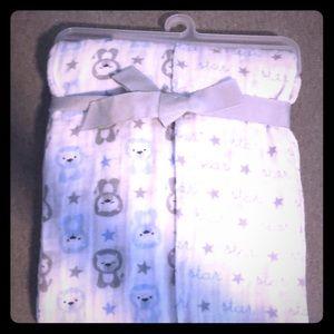 NWT Baby Boy Muslin Swaddle Blankets